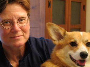 Caren Werlinger photo with dog